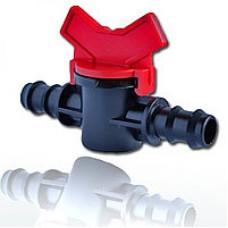 Миникран зубчатый 16х16 для ПЭ трубки 16 мм