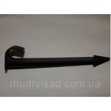 Крючок для фиксации садовой трубки 16 мм (длина 11,2 см)