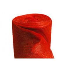 Сетка затеняющая 85 %, 6,4 м х 50 м, красная, 85 г/м² (Украина)