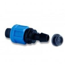 Фитинг - стартер ПЭ 12 мм с резинкой