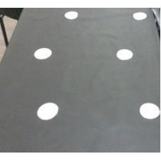 Агроволокно 50 г/м² 1,6 х 100 м. Черно-белое. Перфорированное. Agreen